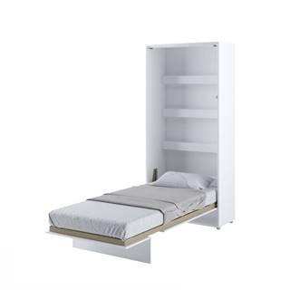Dig-net nábytok Sklápacia posteľ BED CONCEPT BC-03p |Biely lesk