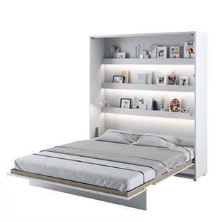 Dig-net nábytok Sklápacia posteľ BED CONCEPT BC-13p |Biely lesk