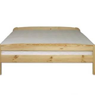 Manželská posteľ - masív LK108 | 120cm borovica