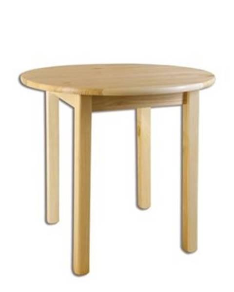 Drewmax Drewmax Stôl - masív ST105 | 50cm borovica