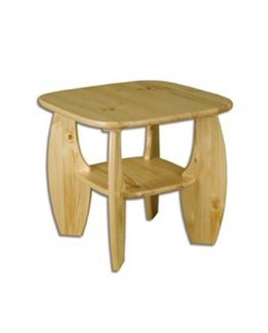 Drewmax Konferenčný stolík - masív ST115 | borovica