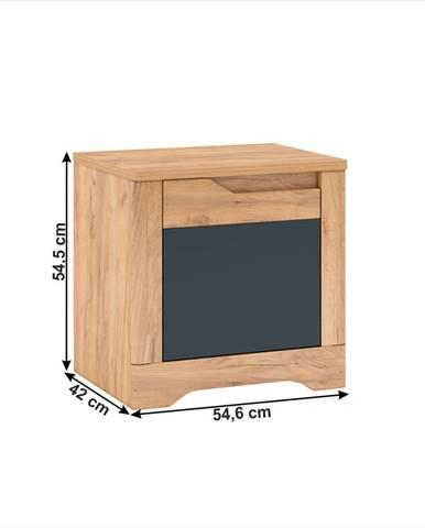 Tempo Kondela Nočný stolík FIDEL X1