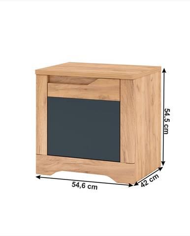 Tempo Kondela Nočný stolík FIDEL X2
