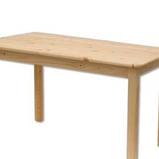 Drewmax Stôl - masív ST104 | 150cm borovica