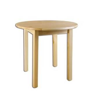 Drewmax Stôl - masív ST105 | 50cm borovica