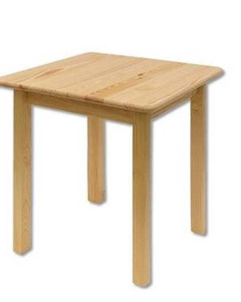 Drewmax Stôl - masív ST108 | 75cm borovica