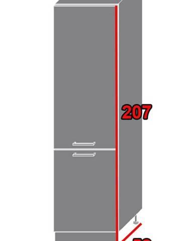 ArtExt Kuchynská skriňa Napoli D14/DL/60/207 POVRCHOVÁ ÚPRAVA DVIEROK
