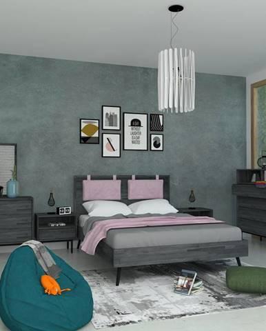Livin Hill Manželská posteľ CAPELLA CAP BK01