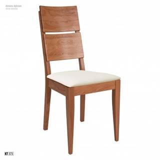 Drewmax Jedálenská stolička - masív KT373 / dub