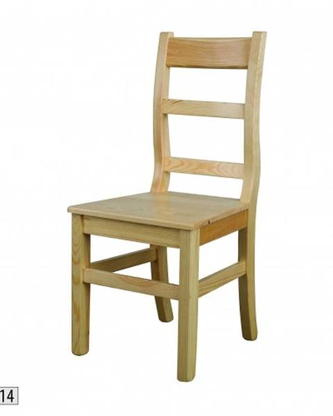 Drewmax Drewmax Jedálenská stolička - masív KT114 / borovica