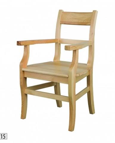 Drewmax Jedálenská stolička - masív KT115 / borovica