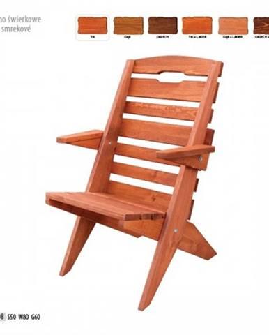 Drewmax Záhradná stolička MO108 farebné prevedenie