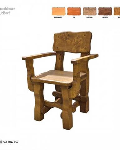 Drewmax Záhradná stolička MO098