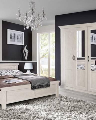 Forte Manželská posteľ KASHMIR KSML181