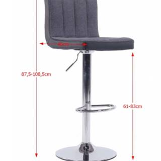Tempo Kondela Barová stolička Hilda