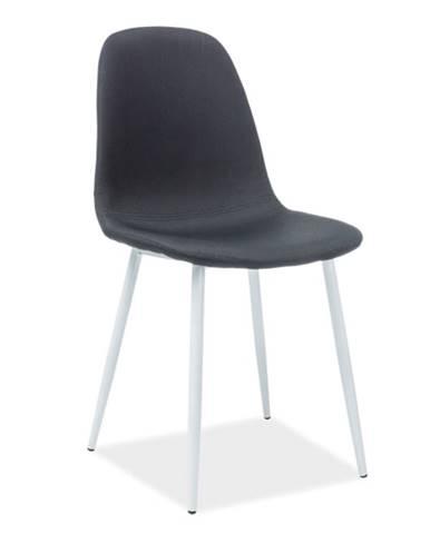 Signal Jedálenská stolička FOX/biela