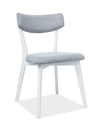 Signal Jedálenská stolička KARL bielosivá