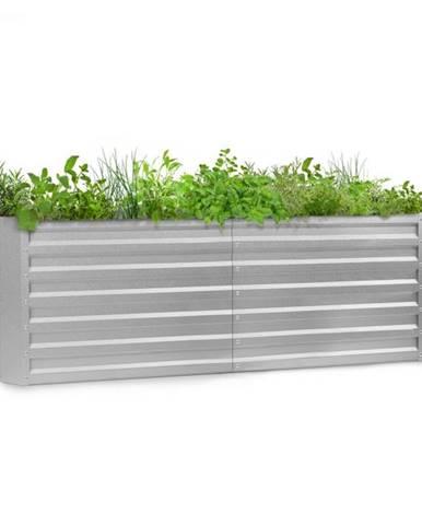 Blumfeldt High Grow Straight, vyvýšený záhon, 200 x 60 x 100 cm, 1200 l, oceľ