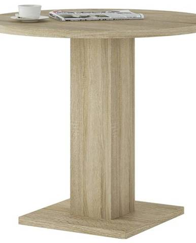Jedálenský stôl LEO LEOT03 dub sonoma