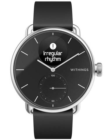 Inteligentné hodinky Withings Scanwatch 38 mm čierne
