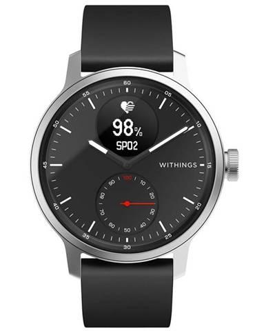 Inteligentné hodinky Withings Scanwatch 42 mm čierne