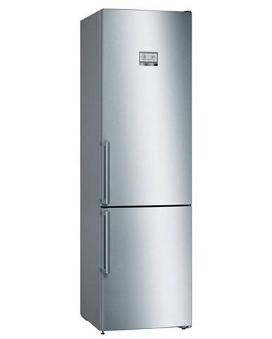 Kombinácia chladničky s mrazničkou Bosch Serie   6 Kgn39hiep nerez