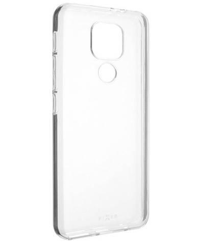 Kryt na mobil Fixed na Motorola Moto G9 Play priehľadný