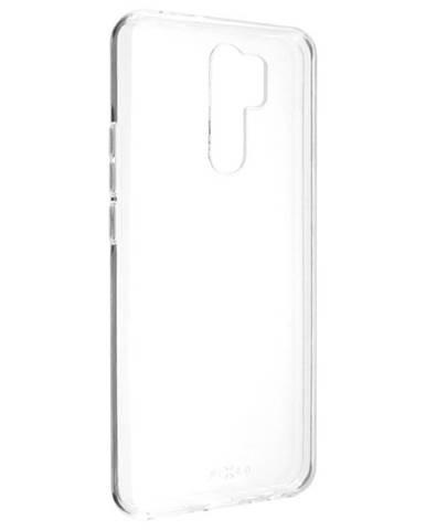 Kryt na mobil Fixed Skin na Xiaomi Redmi 9 priehľadný