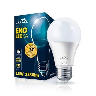 LED žiarovka ETA EKO LEDka klasik 15W, E27, neutrálna biela