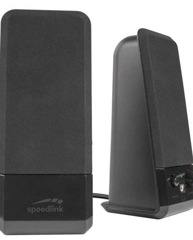 Reproduktory Speed Link Event Stereo Speakers čierne