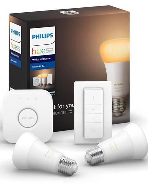 Philips Štartovacia sada Philips Hue 9W, E27, White Ambiance