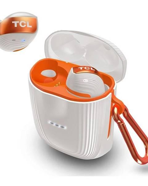 TCL Slúchadlá TCL Actv500tws biela/oranžová