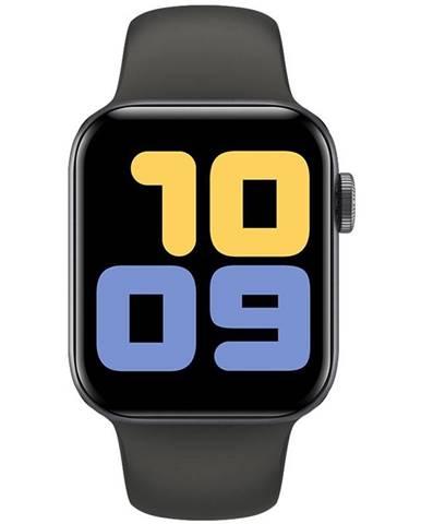 Inteligentné hodinky Carneo Gear+ Cube čierne