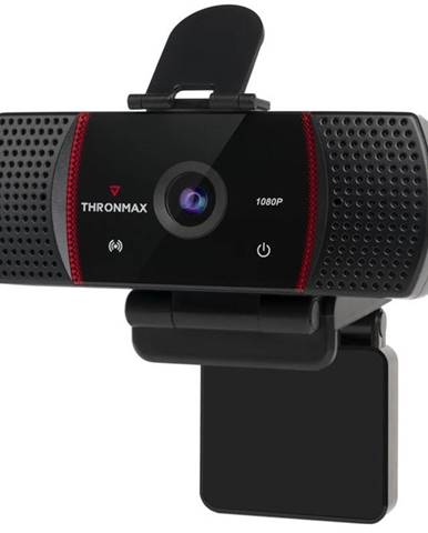 Webkamera Thronmax Stream GO HD 1080p čierna