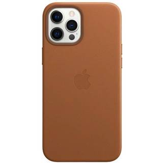 Kryt na mobil Apple Leather Case s MagSafe pre iPhone 12 Pro Max -