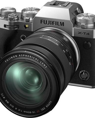 Digitálny fotoaparát Fujifilm X-T4 + XF16-80 mm strieborn