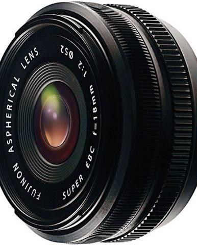 Objektív Fujifilm XF18 mm f/2.0 R čierny