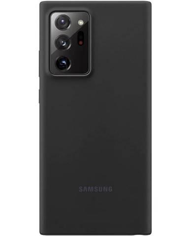 Kryt na mobil Samsung Silicone Cover na Galaxy Note20 Ultra čierny