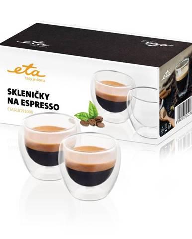 Poháre na espresso ETA 4181 91000 sklo