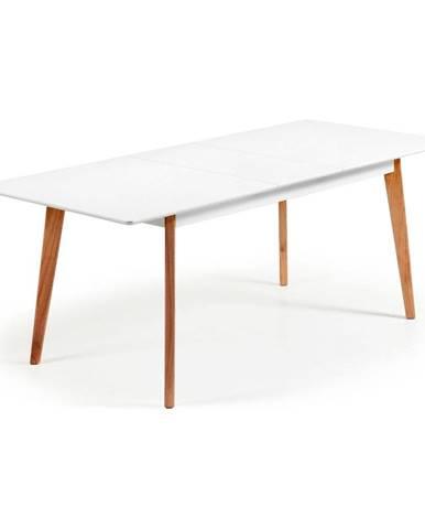 Rozkladací jedálenský stôl La Forma Meet, 160 x 90 cm