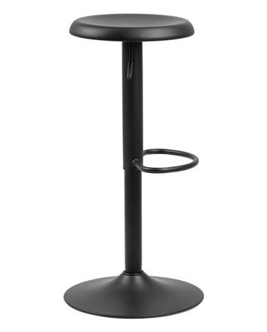 Čierna barová stolička Actona Finch