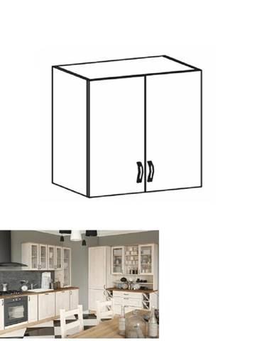 Horná skrinka biela/sosna nordická ROYAL G80