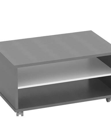 Konferenčný stolík grafit/biela RIOMA NEW TYP 32
