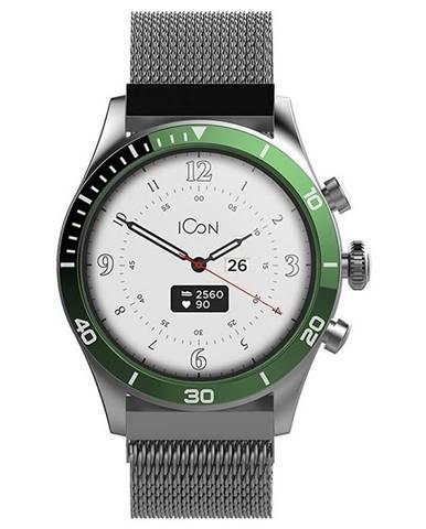 Inteligentné hodinky Forever Icon AW-100 zelené