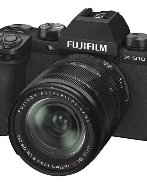 Fujifilm Digitálny fotoaparát Fujifilm X-S10 + 18-55 mm čierny