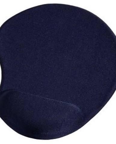 Podložka pod myš  Hama Ergonomická gelová, 20 x 23 cm modrá