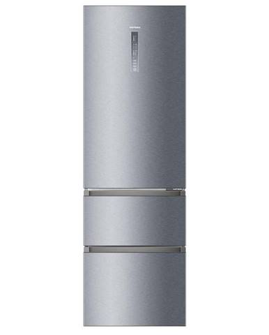 Kombinácia chladničky s mrazničkou Haier A3fe835cgje Titanium