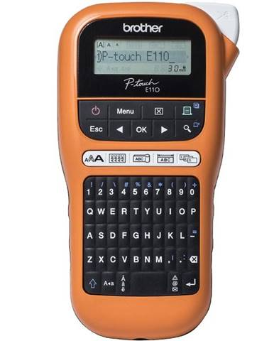 Tlačiareň štítkov Brother PT-E110VP