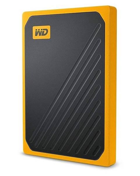 Western Digital SSD externý Western Digital My Passport Go 1TB žltý