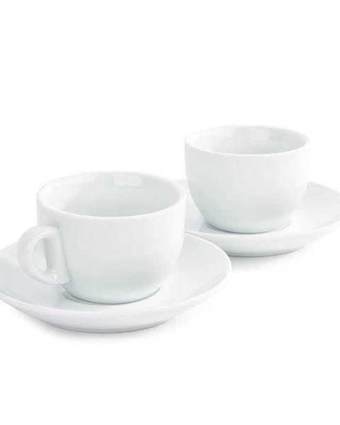 Mäser Domestic sada 2 šálok a 2 podšálok na Cappuccino, 180 ml
